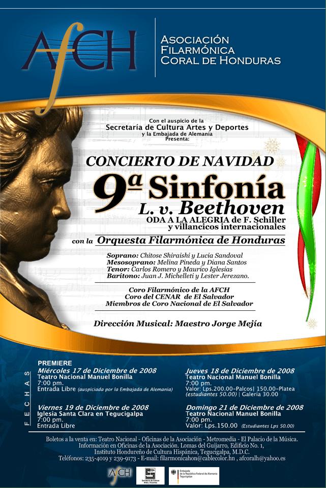 Concierto 9a Sinfonia de Beethoven
