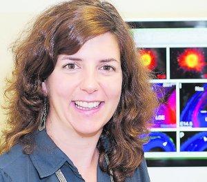 La investigadora Guillermina López Bendito