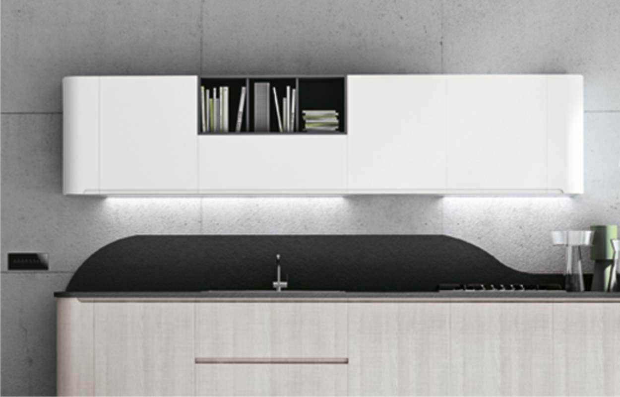(0) alzatina in alluminio rivestita bianca 3 m. Misure Dei Pensili Tutte Le Modularita Stosa Cucine