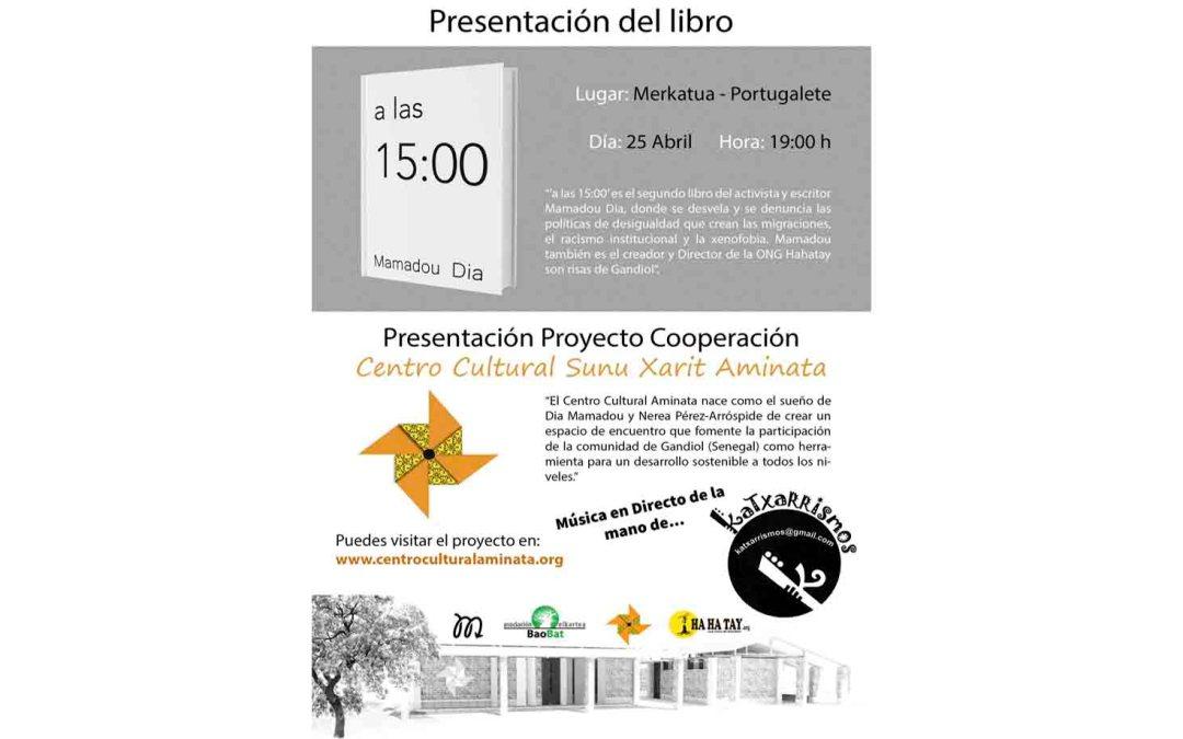 Presentación Proyecto Centro Cultural Aminata en Portugalete (Bizkaia)