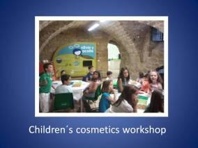 Children´s Cosmetics Workshop