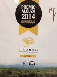 Premio Alcuza al AOVE de Pradolivo