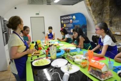 Verduras y cocina
