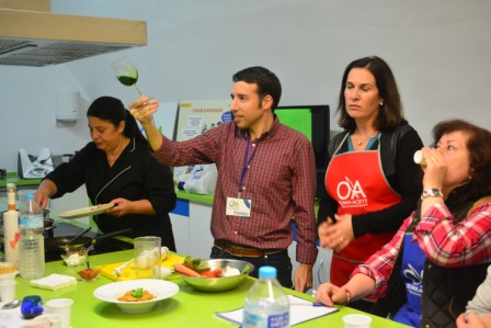 Tomás Méndez en Taller de Cocina