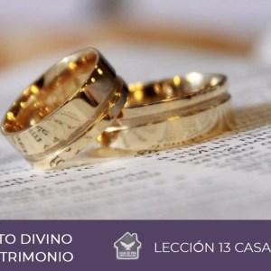 PROPÓSITO DIVINO EN EL MATRIMONIO | Lección 13 Casas de Vida
