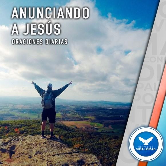 Anunciando a Jesús