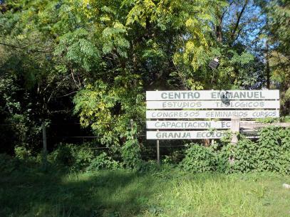 1 cartel entrada Centro antes poda
