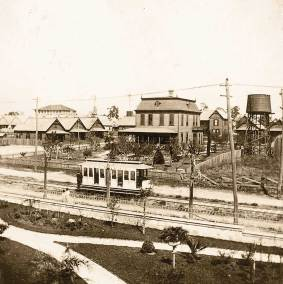 Early street car