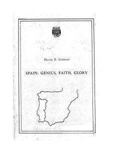 Spain: Genius, Faith, Glory