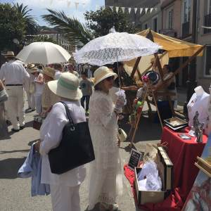 Lovely Attire and Beautiful Parasols