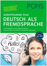 Pons Audiotraining Plus: Deutsch als Fremdsprache: 10000₡