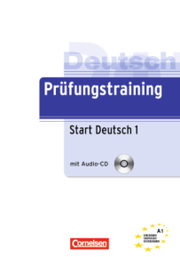 Cornelsen Prüfungstraining Deutsch Start 1: 15000₡
