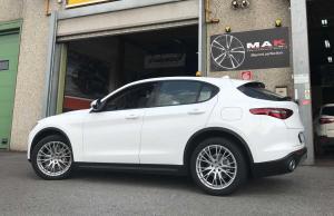 Alfa Romeo Cerchi MAK Rennen Silver
