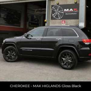 CHEROKEE - MAK HIGLANDS Gloss Black
