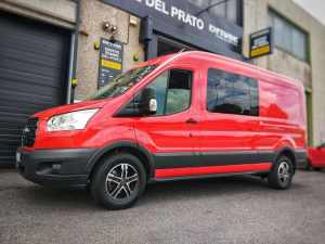 Ford Transit - Cerchi MAK King 5 Ice Black