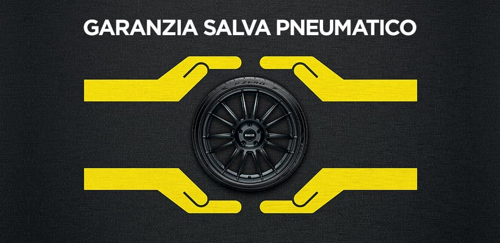 Promo garanzia salva pneumatico pirelli