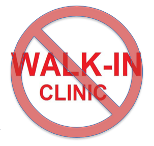 Why You Should Avoid Walk-In Clinics