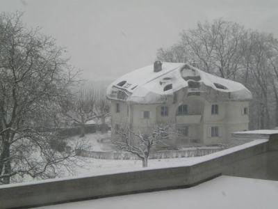 Veduta del Goetheanum a Dornach
