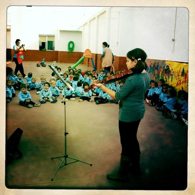 Educación musical en Escuela Creatividad