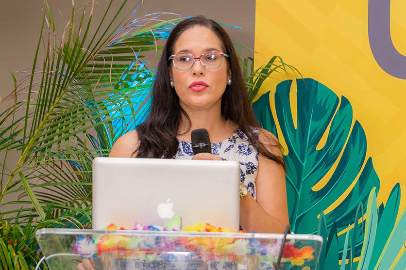 Dra. Adalgisa Corona expone en el COHES 2018