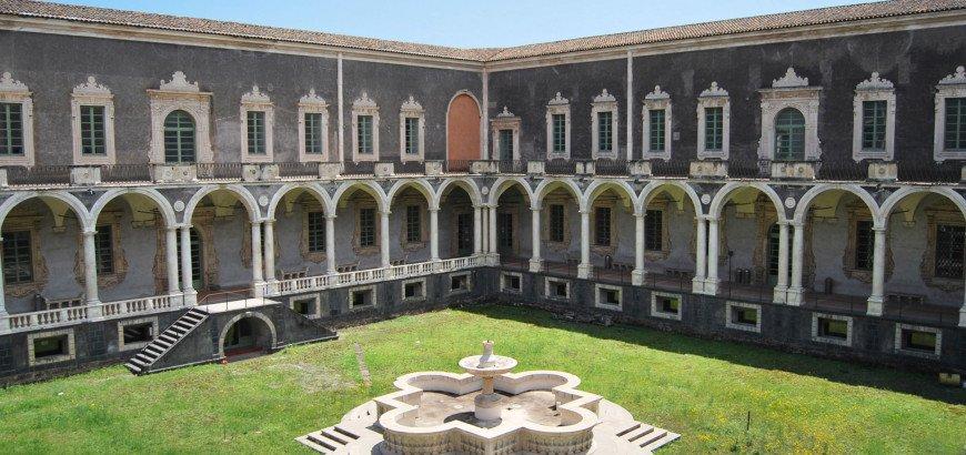 monastero dei benedettini a catania