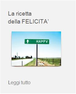 felicità happyness benessere
