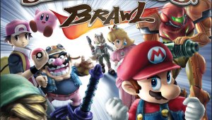 Box Art Oficial de Super Smash Bros Brawl Americano