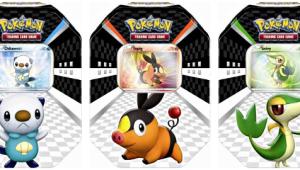 Cajas metálicas de Pokémon TCG/JCC: Blanco y Negro, ya a la venta en España
