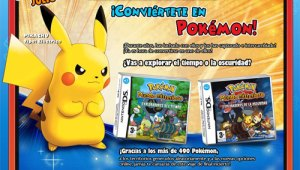 Web Oficial de Pokémon Mundo Misterioso: Exploradores del Tiempo / Exploradores de la Oscuridad