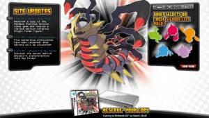 Abrio la Web oficial de Pokémon Platinum
