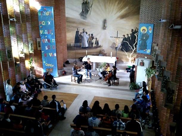La OSCYL en el Centro San Juan de Dios