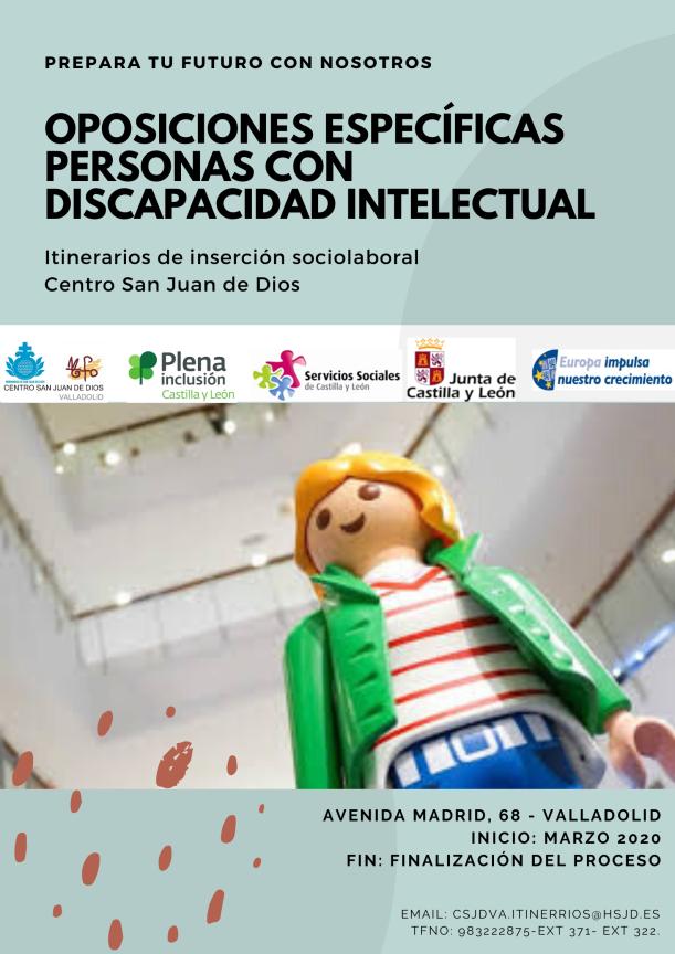 oposiciones personas con discapacidad intelectual FSE