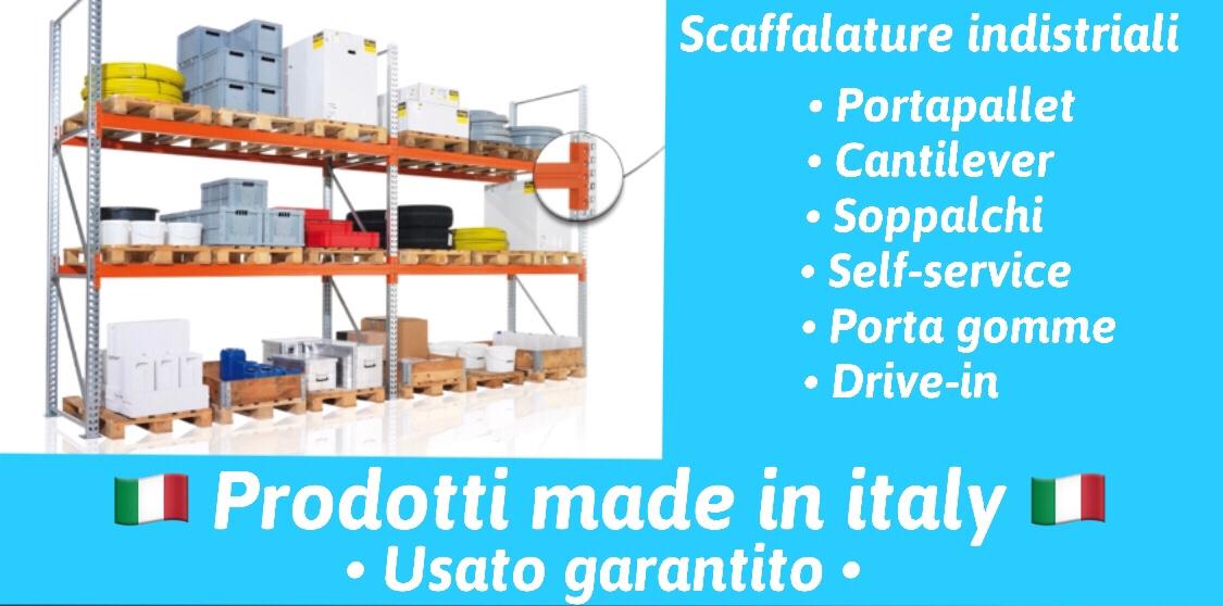 CENTRO SCAFFALI TEL 3453716757            Il più grande centro di smistamento scaffali, scaffalature, muletti, macchinari, che c'e in italia con materiale in pronta consegna.USATO & NUOVO