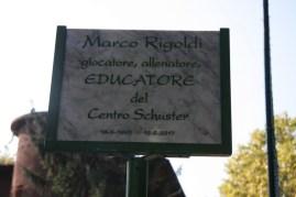 Targa in ricordi Marco Rigoldi