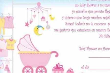 Imgenes De Frases Cortas Para Invitacion De Baby Shower