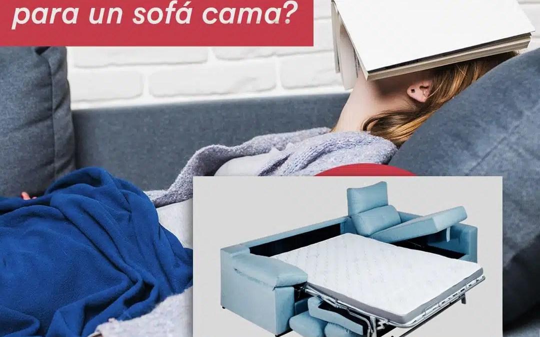 Tipos de colchón para un sofá cama