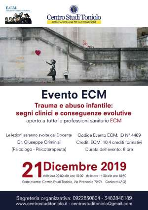 TRAUMA E ABUSO INFANTILE: SEGNI CLINICI E CONSEGUENZE EVOLUTIVE