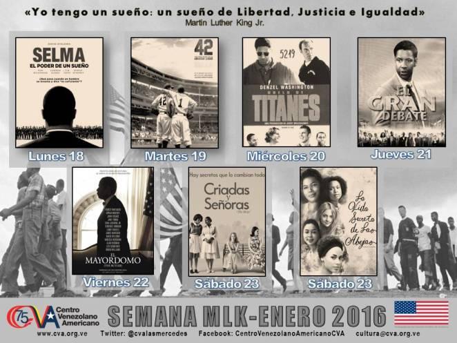 CINE SEMANA MLK 2016