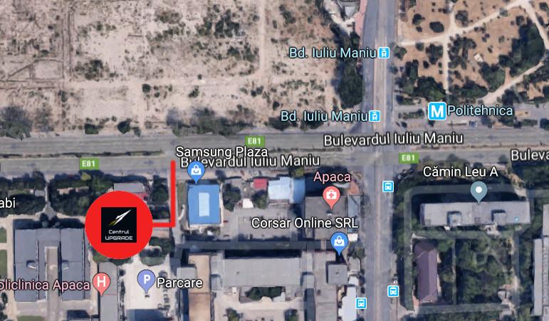 Harta Centrul UPGRADE