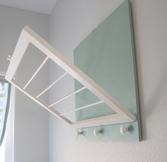 DIY: Laundry Room Drying Rack   Centsational Style