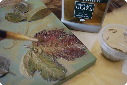 bronze glaze