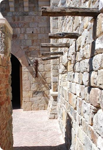 castle tower corridor