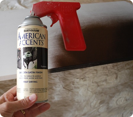 espresso spray paint