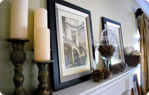 toned down mantle