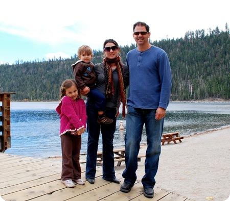 cg family on dock