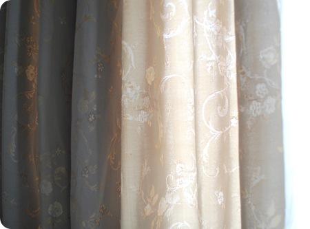 curtains up close