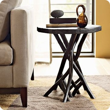 west elm branch side table
