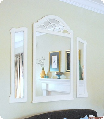 wall mirror after