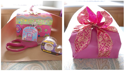 gift wrapped duo