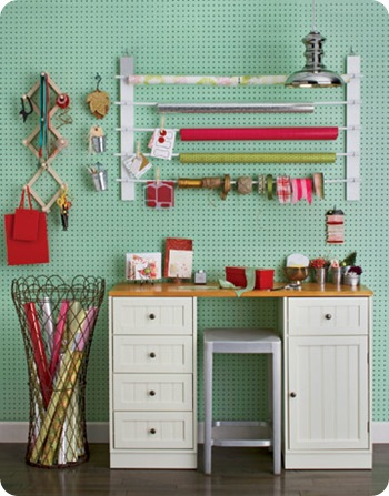 gift wrap station country living